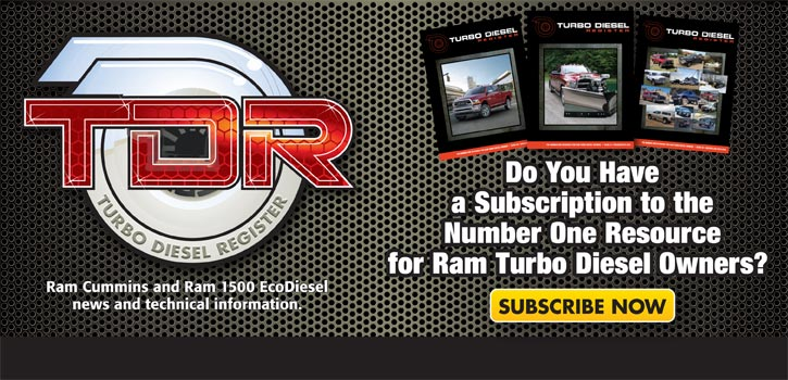 Turbo Diesel Register Subscription