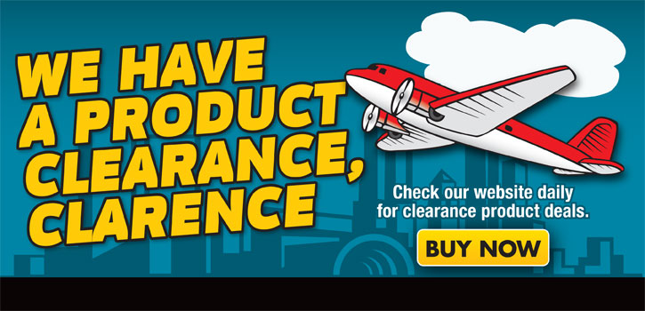 Geno's Garage Clearance Products
