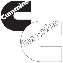 "DECAL - CUMMINS ""C"" (10 X 10)"