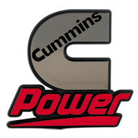 "CAB PLATE - CUMMINS ""C POWER"""
